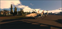 OLDS AFB_F-18 Hornet