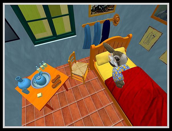 Shmoo's Room at Arles