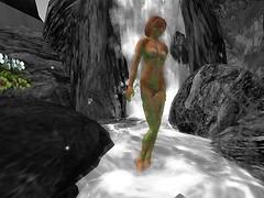 Bathing Maiden Statue