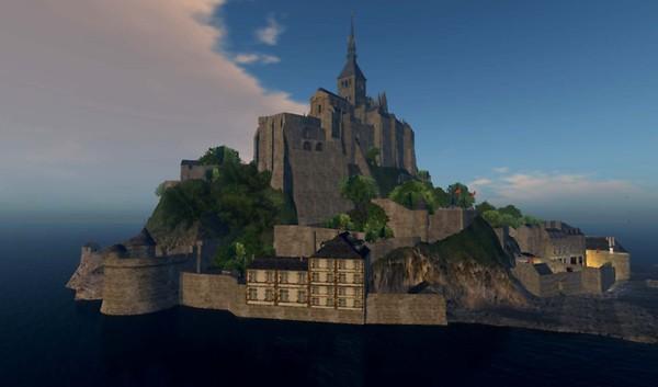 Mont Saint Michel replica.