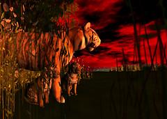 Tigers at Dawn - InWorldz