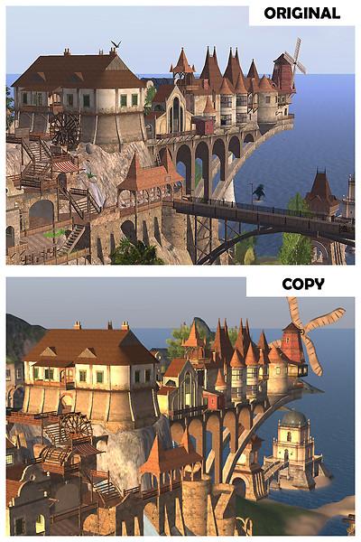 Copybotted Vintage Village