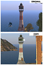 Copybotted lighthouse