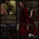 CAT Celtic Tunic - Ruby512