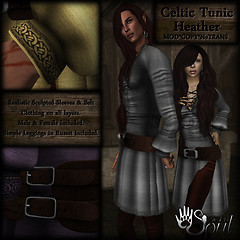 CAT Celtic Tunic - Heather512