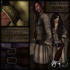 CAT Celtic Tunic - Fawn512