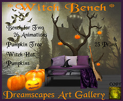 *Witch Bench* Dreamscapes Art Gallery for The Witch Hunt 2011