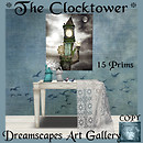*The Clocktower* - Dreamscapes Art Gallery for Celebration of the Arts Hunt