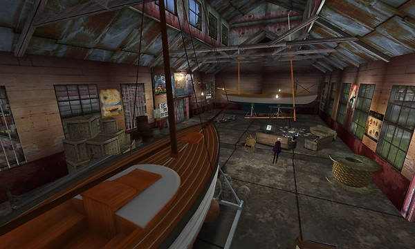 listening to crazy 80s synth solos while checking out this boat 