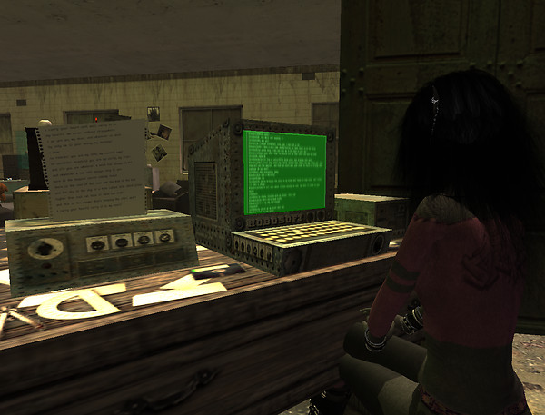 Marunogere - Gloomy Lunatic Asylum - mine looks nicer - and has a color screen too_001