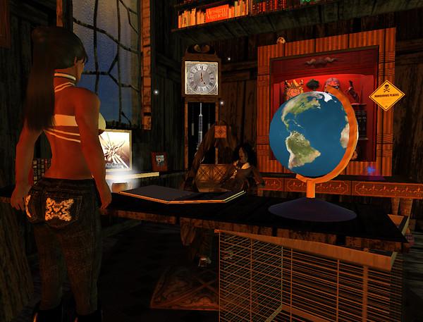 Loon - taking place at Professor Kaos desk_001