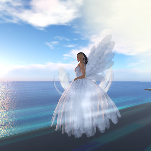 QT White Angel