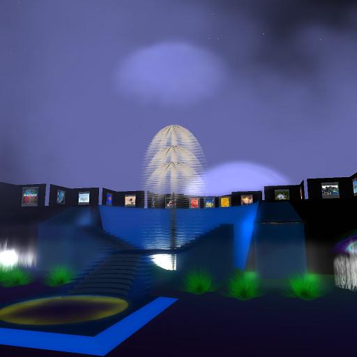 cloud gallery @ night 2