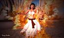 Zahra on fire at Burn2