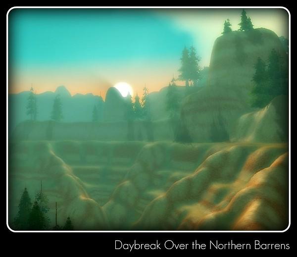 Northern Barrens at Daybreak