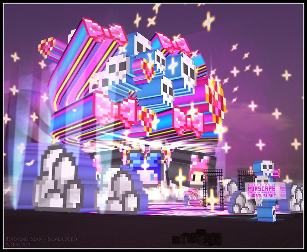 Burning Man Silver Seed - POPSCAPE #1