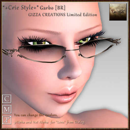 *+Crie Style+* Garbo [BR] / GIZZA CREATIONS Limited Edition