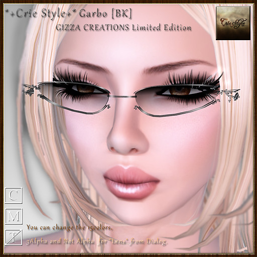 *+Crie Style+* Garbo [BK] / GIZZA CREATIONS Limited Edition