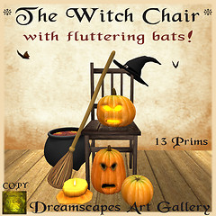 *The Witch Chair* - Dreamscapes Art Gallery