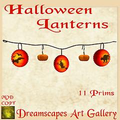 Halloween Lanterns & Pumpkins - Dreamscapes Art Gallery