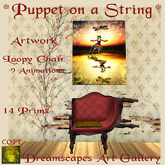 *Puppet on a String* - Dreamscapes Art Gallery for No Strings Attached Hunt
