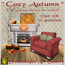 *Cozy Autumn* Set - Dreamscapes Art Gallery for RLM Pumpkin Hunt