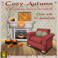 *Cozy Autumn* Set - Dreamscapes Art Gallery for RLM Pumpkin Hunt