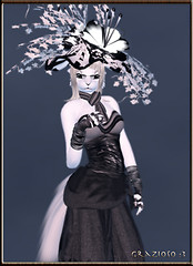 My GIZZA's Style (Black and White mix) :3