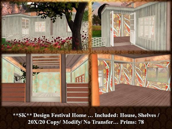 New Release - **SK** Design - Festival Home