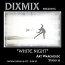 white night art warehouse