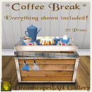*Coffee Break* Set - Dreamscapes Art Gallery for The Whiz Coffee Hunt