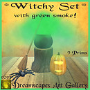 *Witchy Set* Dreamscapes Art Gallery for *Spooky You* Halloween Event