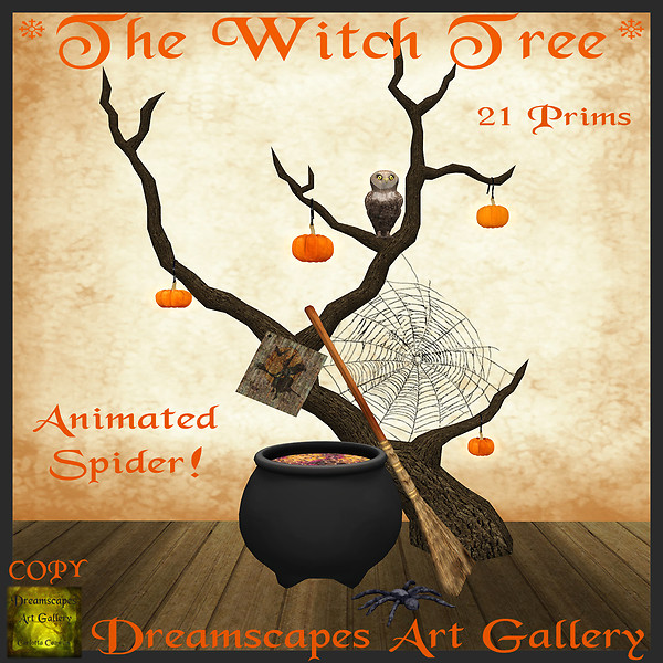 *The Witch Tree* - Dreamscapes Art Gallery