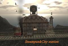 SteampunkCity Station