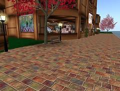 What a pretty pavement!