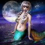 Mermaid in Moonlight
