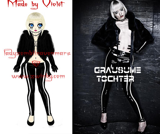 Zwink'd version of the sexy Grausume Tochter