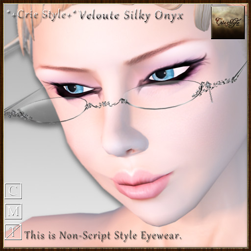 *+Crie Style+* Veloute - Silky Onyx