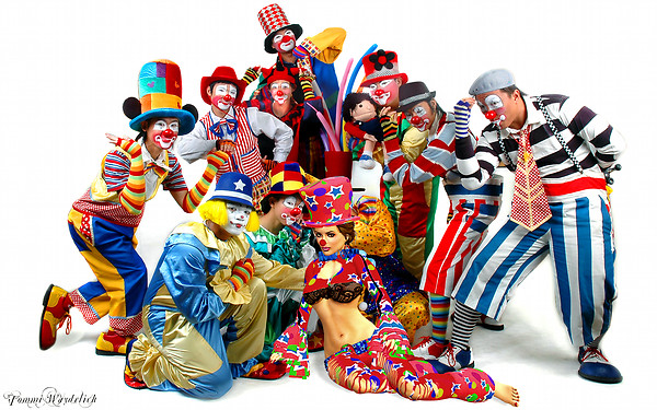 Colorful Clowns