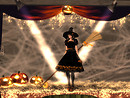 Witch on stage