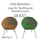 Chair BrownGreen