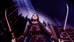 Dragon Age Origins_Aria Aeducan_Ready for the fight