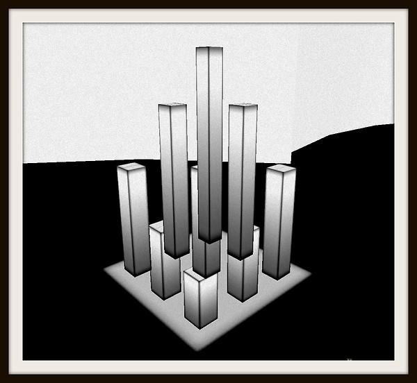 Behind Columns