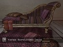 vintage reupholstered chaise by insight designs ad