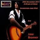 Jase Benner at Incoerenza jazz Club