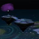 QT Mystery Islands at night
