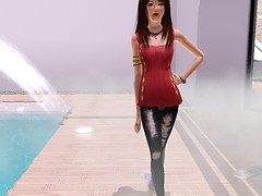 TheSims3 - Alisha Valliére(2)