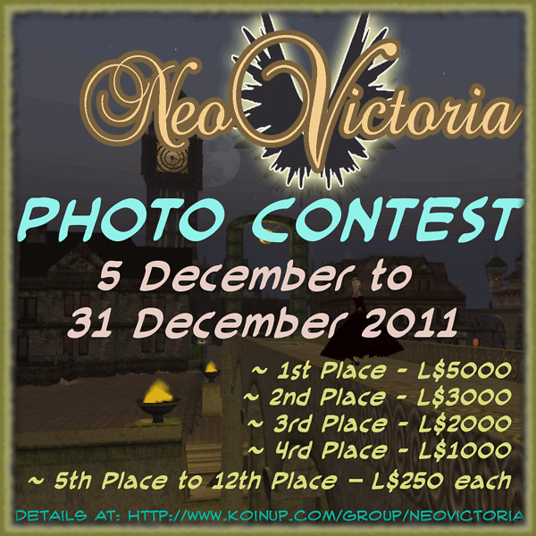 NeoVictoria Photo Contest Advertisement