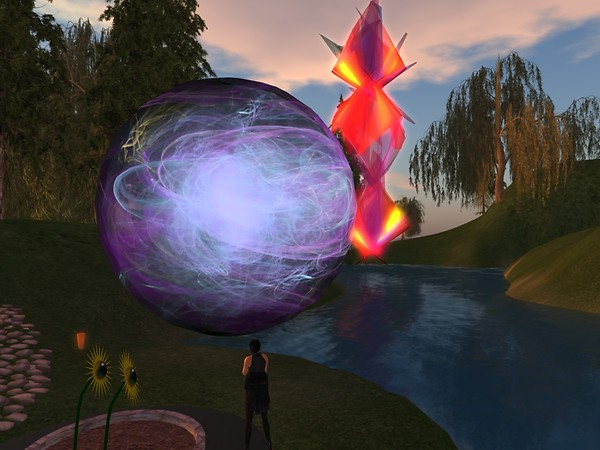 The Big Ball is following too! - chimera.cosmos