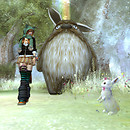 totoro + rabbit + neko